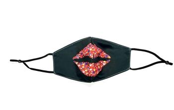 Image Heart Lips Adjustable Mask