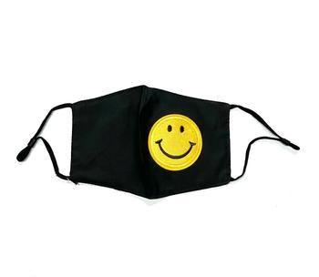 Image Black Smile Patch Adjustable Mask