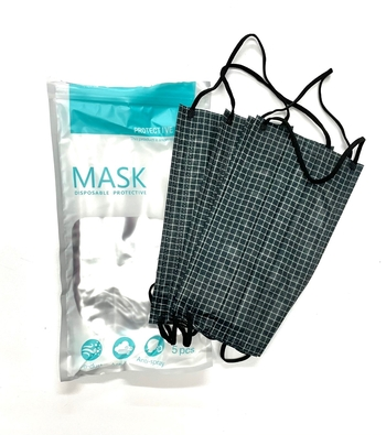 Image Checkerboard 5 Pack Disposable Mask