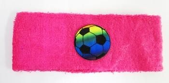 Image Terry Tie Dye Soccer Head Wrap