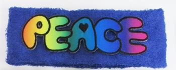 Image Terry Peace Tie Dye Headwrap