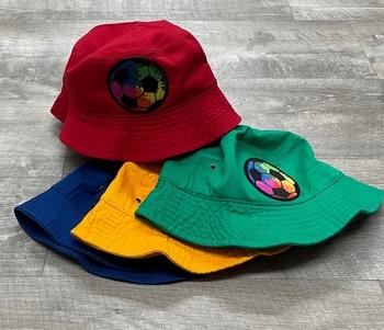Image Tie Dye Soccer Ball Bucket Hat