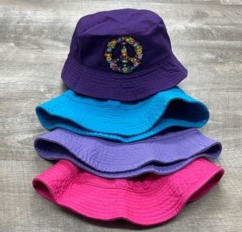 Image Groovy Peace Bucket Hat