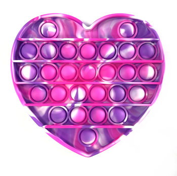 Image Pink & Purple Tie Dye Heart Crazy Snaps
