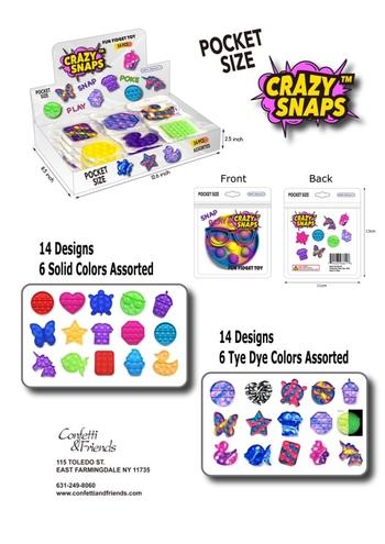 Image Mini Pocket Size Solid Crazy Snaps