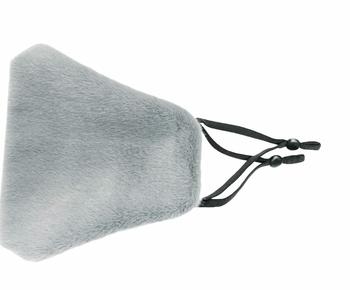 Image Grey Plush Mask