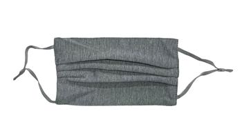 Image Dark Grey Pleated Jersey Mask