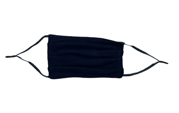 Image Navy Jersey Pleated Mask