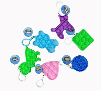 Image Fun Shape Crazy Snaps Keychains