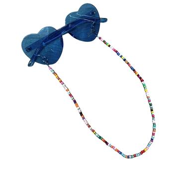 Image Rainbow Bead Sunglass Holder