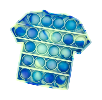 Image Blue Glow T-Shirt Crazy Snap