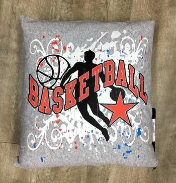 Image Basketball Autograph Pillow