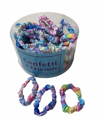 Image Tie Dye Mini Scrunchies