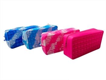 Image Assorted Tie Dye Crazy Snaps Pencil & Fidget Case