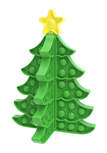 Image Christmas Green Tree Crazy Snaps Puzzle