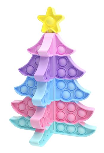 Image Christmas Pastel Tree Crazy Snaps Puzzle