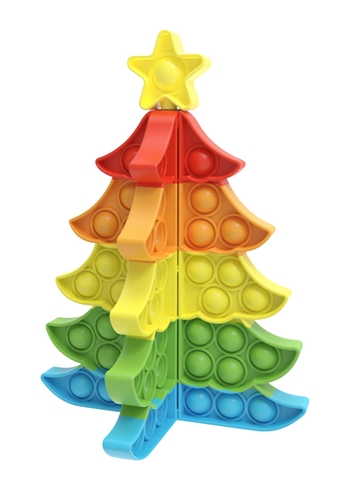 Image Christmas Rainbow Tree Crazy Snaps Puzzle