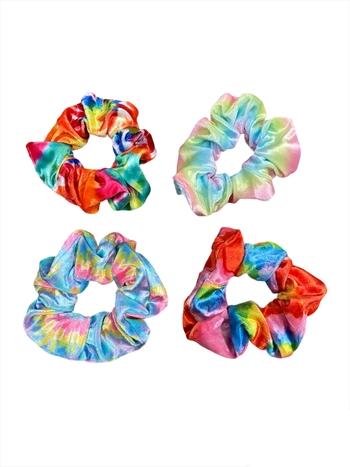 Image Tie Dye Velvet Scrunchie