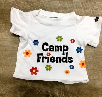 Image Mini T-Shirts to Autograph Camp Friends