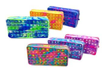 Image New Tie Dye Assorted  Pencil & Fidget Case