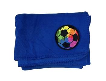 Image Soccer Blanket