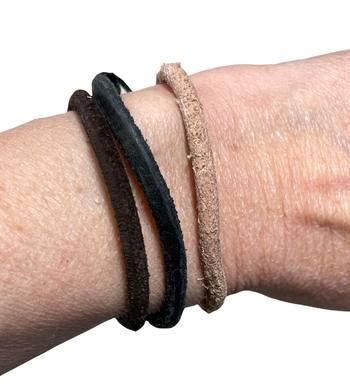 Image Leather Pull tie Bracelet