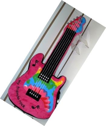 Image Guitar Autograph Pillow