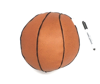 Image Basket Ball Autograph Pillow