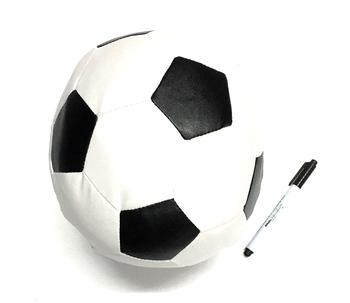 Image Soccer Ball Autograph Pillow