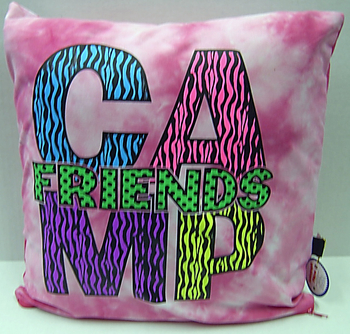 Image Camp Friends Autograph Pillow