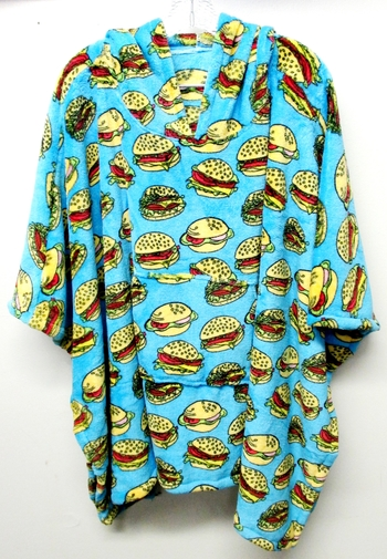 Image Fuzzy Burger Poncho