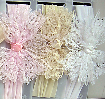 Image Rag Lace Stocking Headband