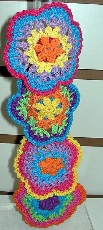 Image Rainbow Crochet Pony