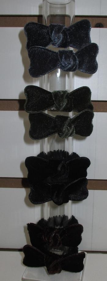 Image Velvet Bow Pony Pairs