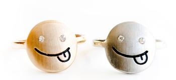 Image Emoji Midi Rings
