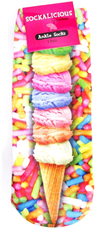 Image Sprinkle Cone Socks