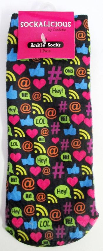 Image Hashtag Socks
