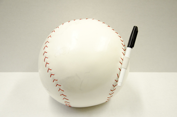 Image Baseball Autograph Pillows