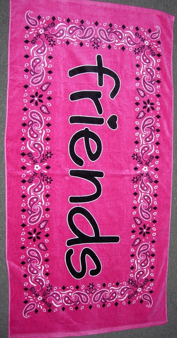 Image Bandana Friends Towel