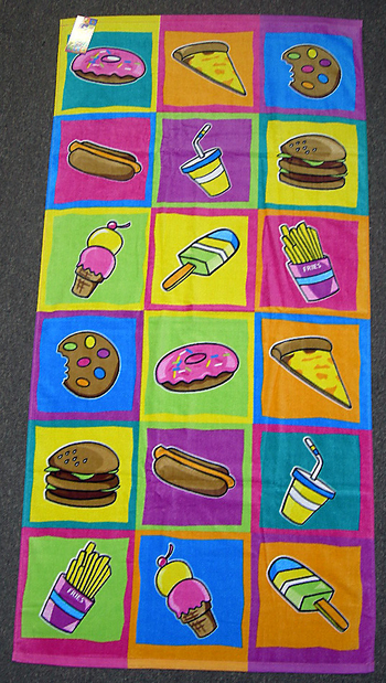Image Junk Food Towel