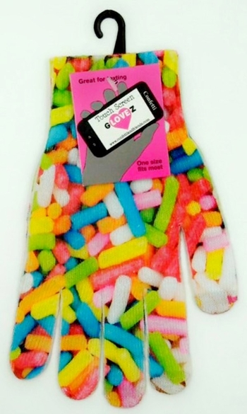 Image TG4 Texting Gloves Sprinkles
