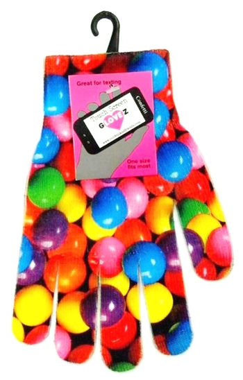 Image Texting Gloves Gumballs