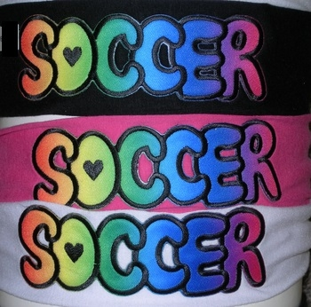 Image Airbrush Soccer Jersey Headwrap