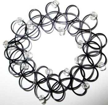 Image Tattooz Silver Bead Bracelet