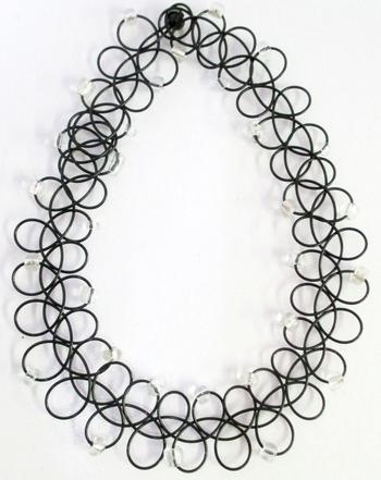 Image Tattooz Silver Bead Necklace